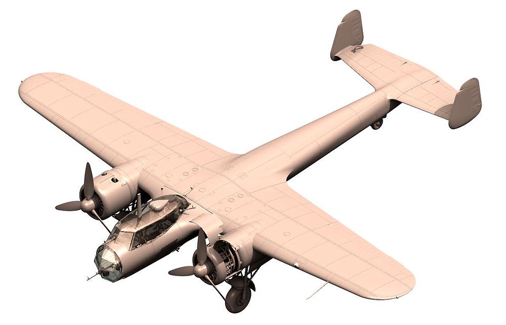 ドルニエ Do17Z-2 爆撃機 フィンランド空軍プラモデル(ICM1/48 エアクラフト プラモデルNo.48246)商品画像_2