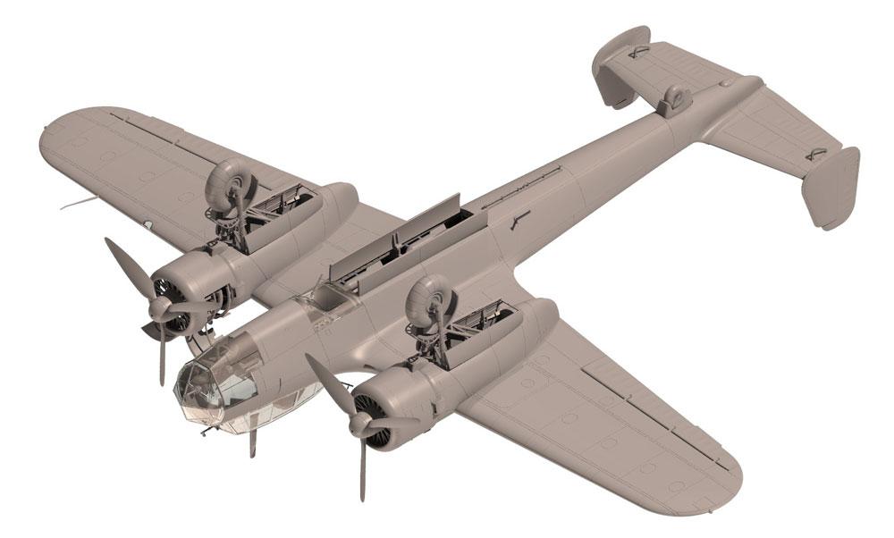 ドルニエ Do17Z-2 爆撃機 フィンランド空軍プラモデル(ICM1/48 エアクラフト プラモデルNo.48246)商品画像_4