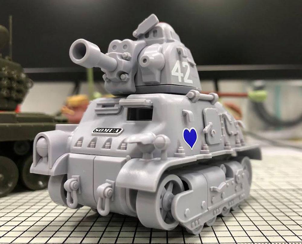 フランス 中戦車 ソミュア S35プラモデル(MENG-MODELWORLD WAR TOONSNo.WWT-009)商品画像_3