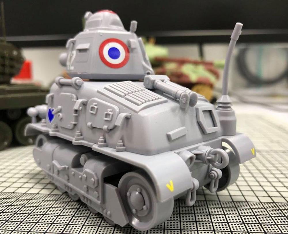 フランス 中戦車 ソミュア S35プラモデル(MENG-MODELWORLD WAR TOONSNo.WWT-009)商品画像_4