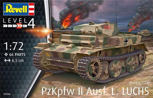 ドイツ 2号戦車 L型 ルクスプラモデル(レベル1/72 ミリタリーNo.03266)商品画像
