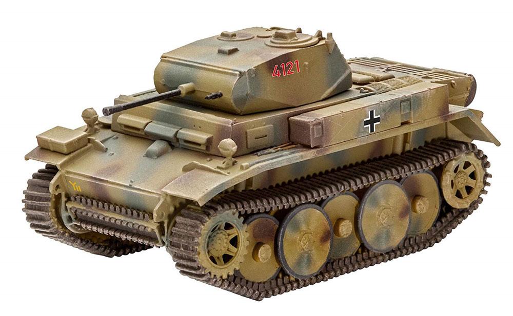 ドイツ 2号戦車 L型 ルクスプラモデル(レベル1/72 ミリタリーNo.03266)商品画像_2