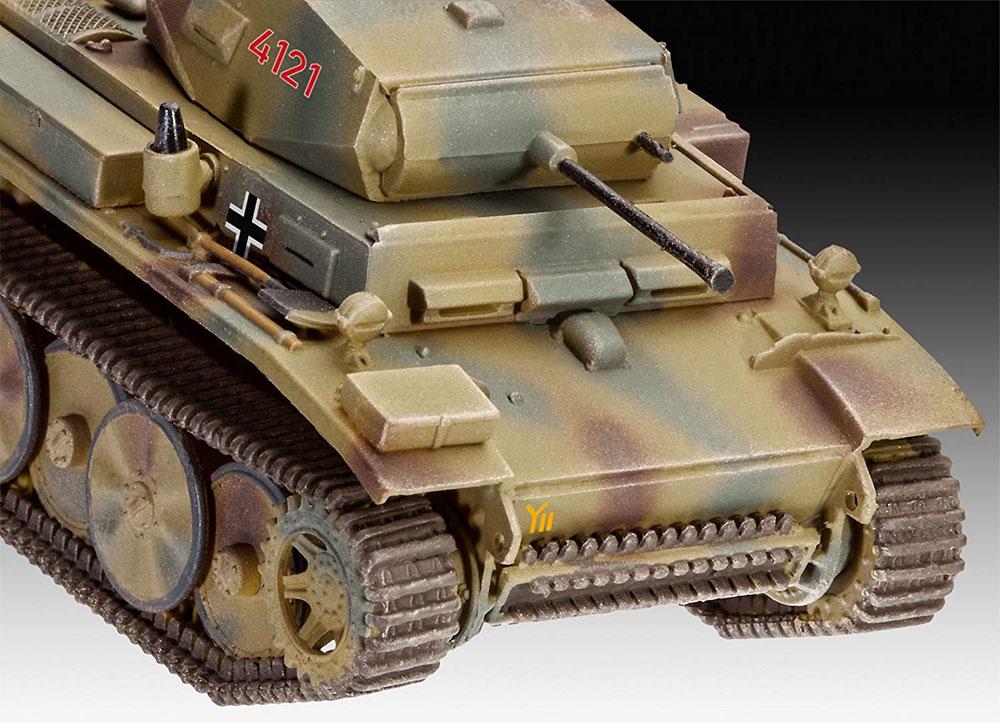ドイツ 2号戦車 L型 ルクスプラモデル(レベル1/72 ミリタリーNo.03266)商品画像_3