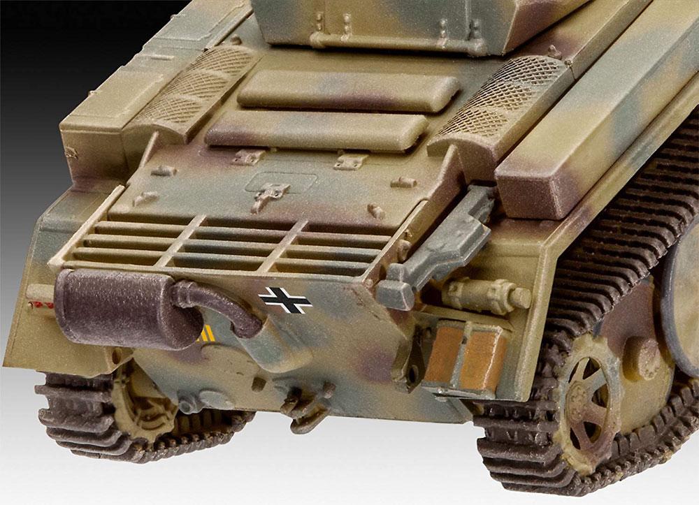 ドイツ 2号戦車 L型 ルクスプラモデル(レベル1/72 ミリタリーNo.03266)商品画像_4