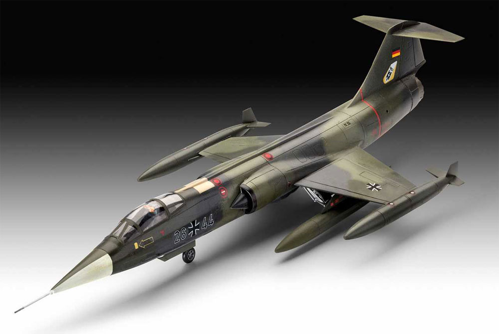 F-104G スターファイタープラモデル(レベル1/72 飛行機No.03904)商品画像_1