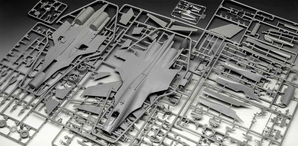 スホーイ Su-33 フランカー Dプラモデル(レベル1/72 AircraftNo.03911)商品画像_1