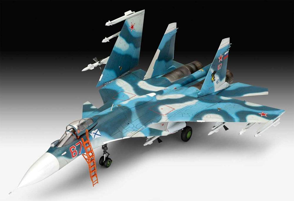 スホーイ Su-33 フランカー Dプラモデル(レベル1/72 AircraftNo.03911)商品画像_2