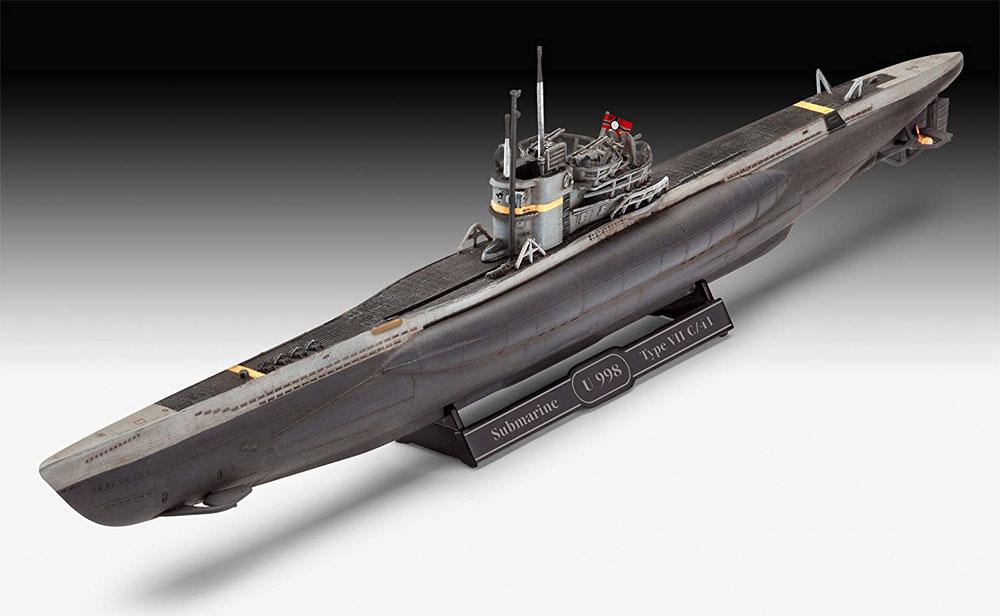 ドイツ 潜水艦 Type7C/41プラモデル(レベル1/350 艦船モデルNo.05154)商品画像_2