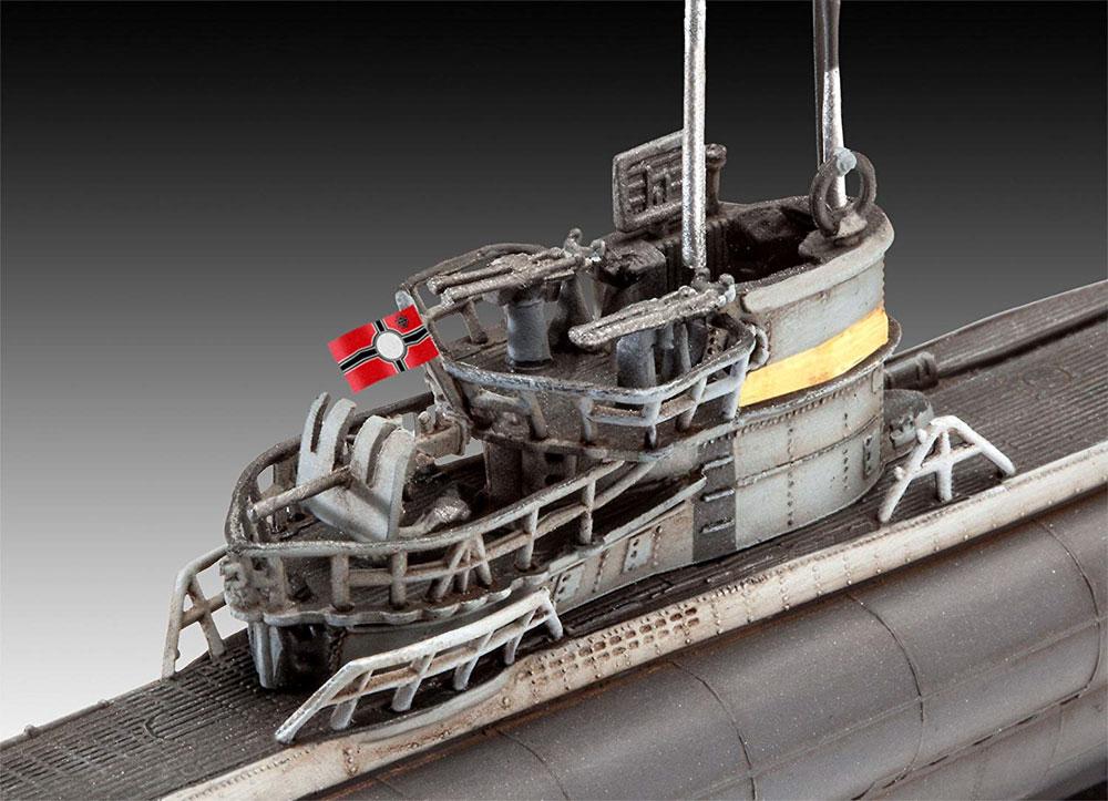 ドイツ 潜水艦 Type7C/41プラモデル(レベル1/350 艦船モデルNo.05154)商品画像_3