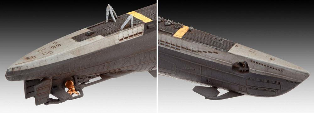 ドイツ 潜水艦 Type7C/41プラモデル(レベル1/350 艦船モデルNo.05154)商品画像_4