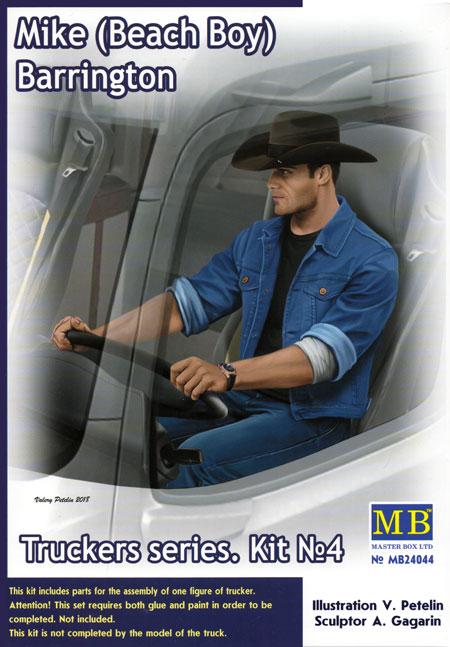 マイク ビーチボーイ バリントン (トラッカーシリーズ)プラモデル(マスターボックスピンナップ (Pin-up)No.MB24044)商品画像