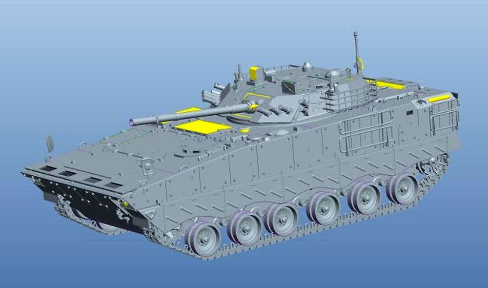 中国人民解放軍 ZBD-04A 歩兵戦闘車プラモデル(パンダホビー1/35 CLASSICAL SCALE SERIESNo.PH35042)商品画像_2