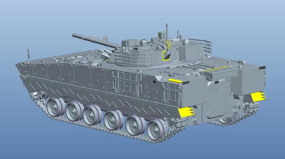 中国人民解放軍 ZBD-04A 歩兵戦闘車プラモデル(パンダホビー1/35 CLASSICAL SCALE SERIESNo.PH35042)商品画像_3