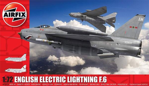 イングリッシュ エレクトリック ライトニング F.6プラモデル(エアフィックス1/72 ミリタリーエアクラフトNo.A05042A)商品画像