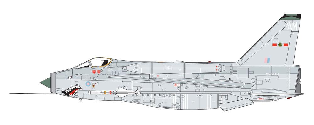 イングリッシュ エレクトリック ライトニング F.6プラモデル(エアフィックス1/72 ミリタリーエアクラフトNo.A05042A)商品画像_2