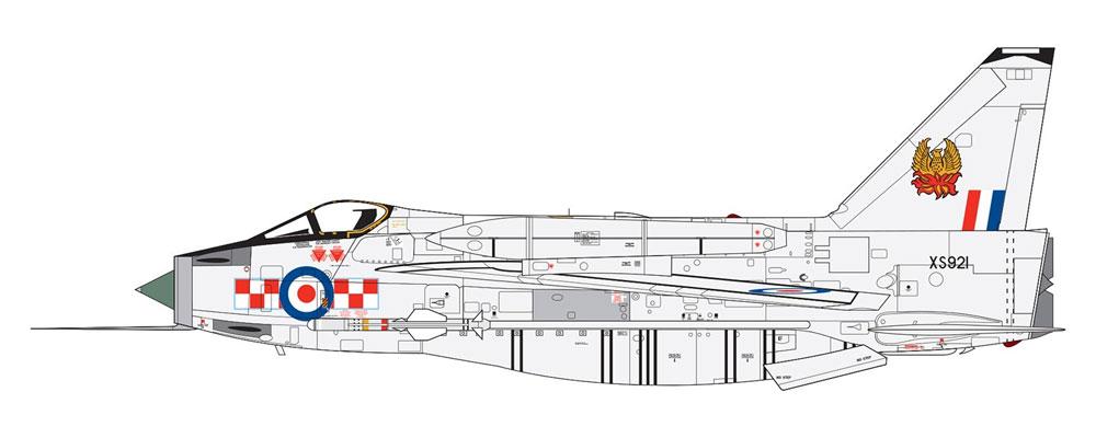 イングリッシュ エレクトリック ライトニング F.6プラモデル(エアフィックス1/72 ミリタリーエアクラフトNo.A05042A)商品画像_3
