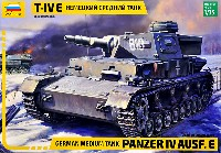 ズベズダ1/35 ミリタリードイツ中戦車 4号戦車 E型