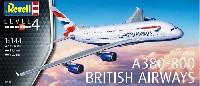 レベル1/144 旅客機エアバス A380-800 ブリティッシュ エアウェイズ