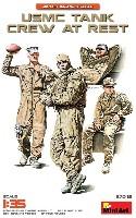 アメリカ海兵隊 戦車兵 休息中