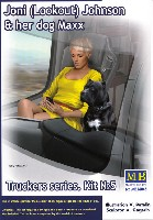 マスターボックスピンナップ (Pin-up)ジョニ ルックアウト ジョンソン & 愛犬 マックス (トラッカーシリーズ)