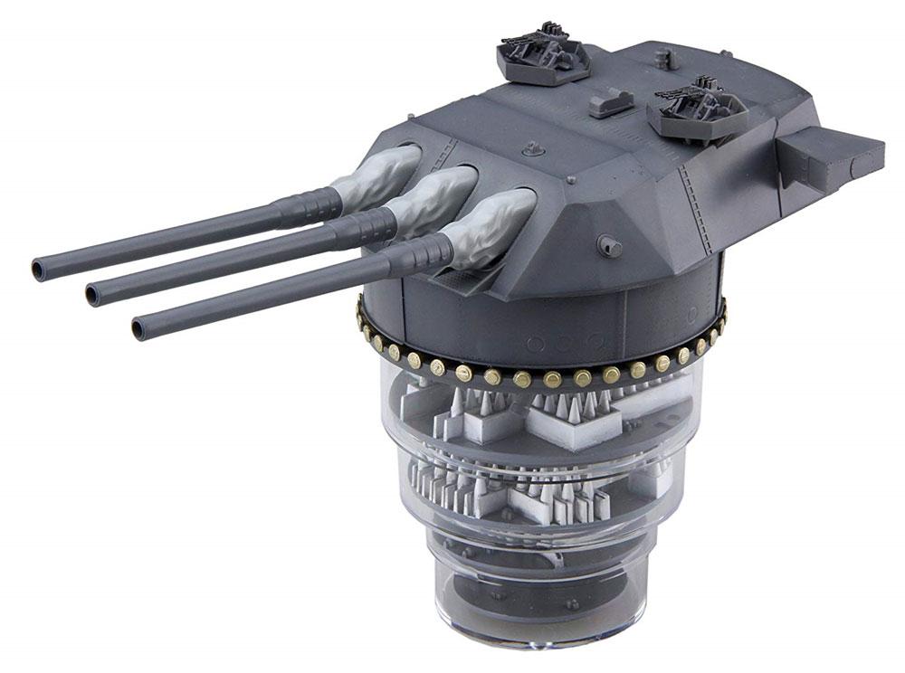 戦艦 大和 九四式 46センチ 3連装 主砲塔 増設機銃付きプラモデル(フジミ集める装備品シリーズNo.003)商品画像_2