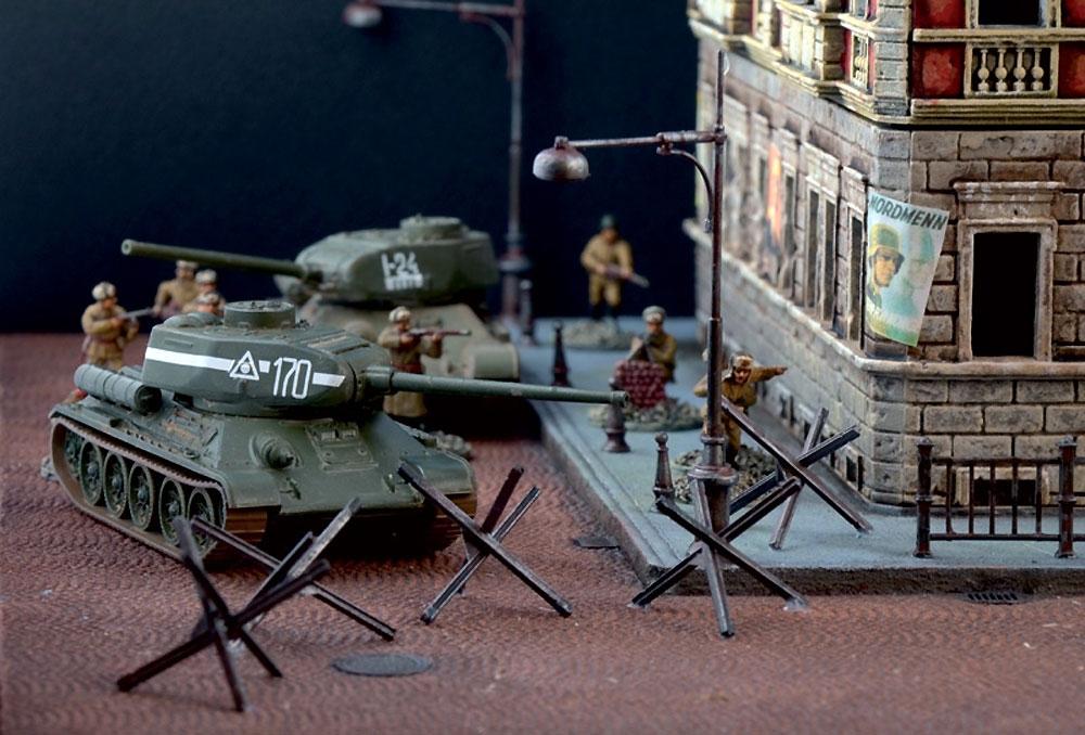 ベルリン市街戦 1945 ジオラマセットプラモデル(イタレリBattle Set (バトルセット)No.6112)商品画像_3