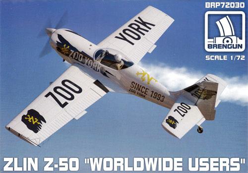 ズリン Z-50 ワールドワイドプラモデル(ブレンガン1/72 Plastic kitsNo.BRP72030)商品画像