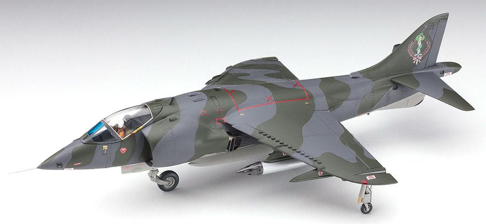 AV-8A ハリアー キム・アバ (エリア88)プラモデル(ハセガワクリエイター ワークス シリーズNo.64766)商品画像_3