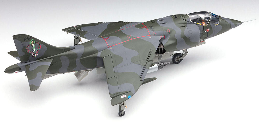 AV-8A ハリアー キム・アバ (エリア88)プラモデル(ハセガワクリエイター ワークス シリーズNo.64766)商品画像_4