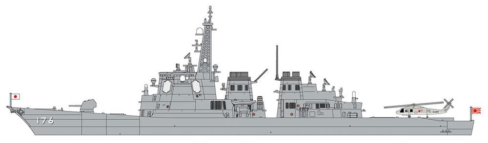 海上自衛隊 護衛艦 ちょうかい ハイパーディテールプラモデル(ハセガワ1/700 ウォーターラインシリーズ スーパーディテールNo.30054)商品画像_3