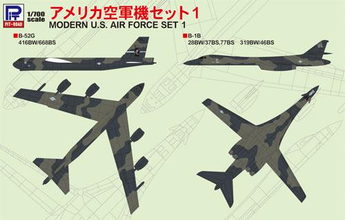 アメリカ空軍機セット 1プラモデル(ピットロードスカイウェーブ S シリーズNo.S046)商品画像