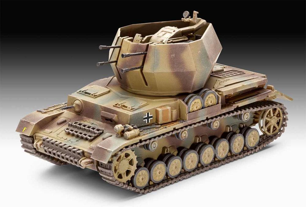 4号対空戦車 ヴィルベルヴィント 2cm Flak38プラモデル(レベル1/72 ミリタリーNo.03267)商品画像_1