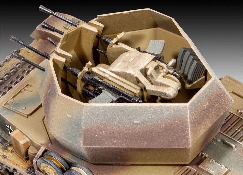 4号対空戦車 ヴィルベルヴィント 2cm Flak38プラモデル(レベル1/72 ミリタリーNo.03267)商品画像_2