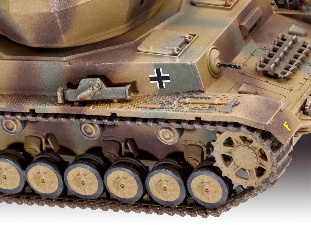 4号対空戦車 ヴィルベルヴィント 2cm Flak38プラモデル(レベル1/72 ミリタリーNo.03267)商品画像_3