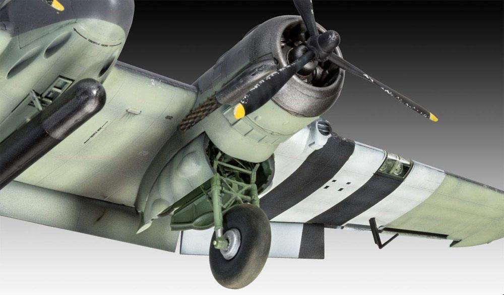 ブリストル ボーファイター TF.10プラモデル(レベル1/48 飛行機モデルNo.03943)商品画像_2