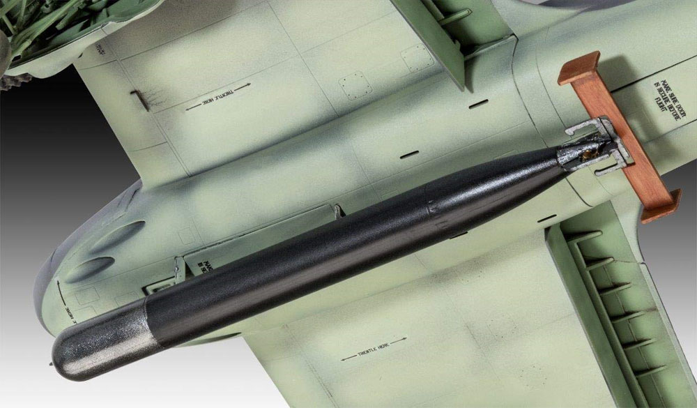 ブリストル ボーファイター TF.10プラモデル(レベル1/48 飛行機モデルNo.03943)商品画像_4