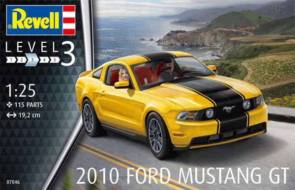 2010年 フォード ムスタング GTプラモデル(レベルカーモデルNo.07046)商品画像