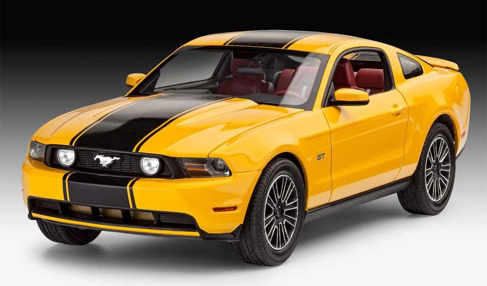 2010年 フォード ムスタング GTプラモデル(レベルカーモデルNo.07046)商品画像_2