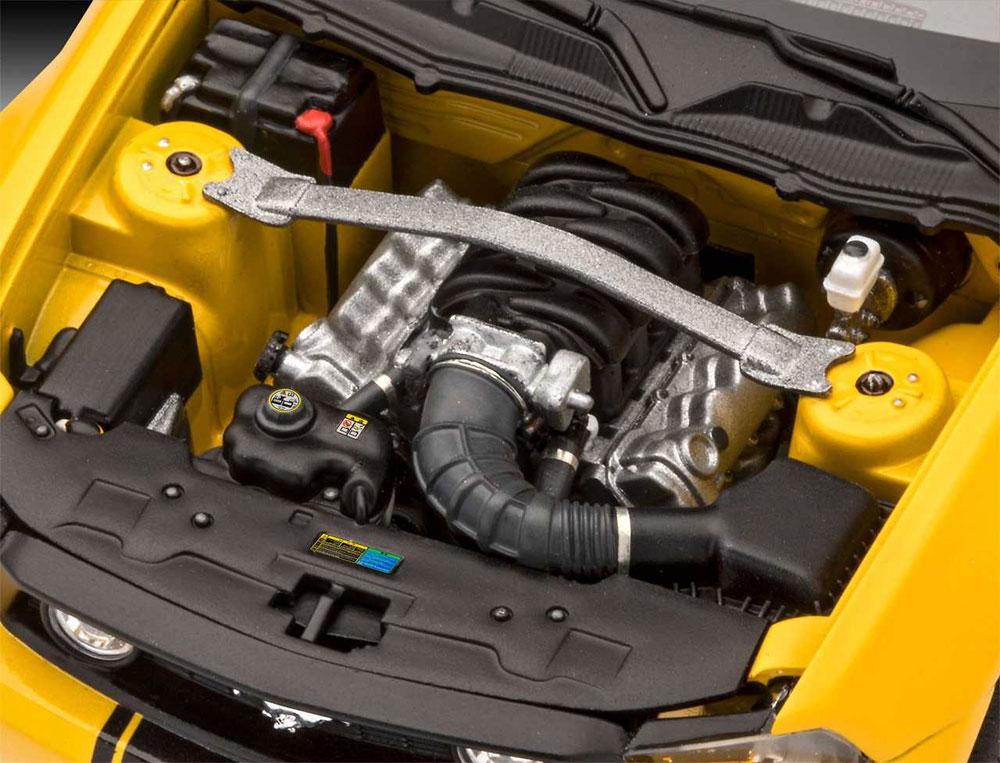 2010年 フォード ムスタング GTプラモデル(レベルカーモデルNo.07046)商品画像_3