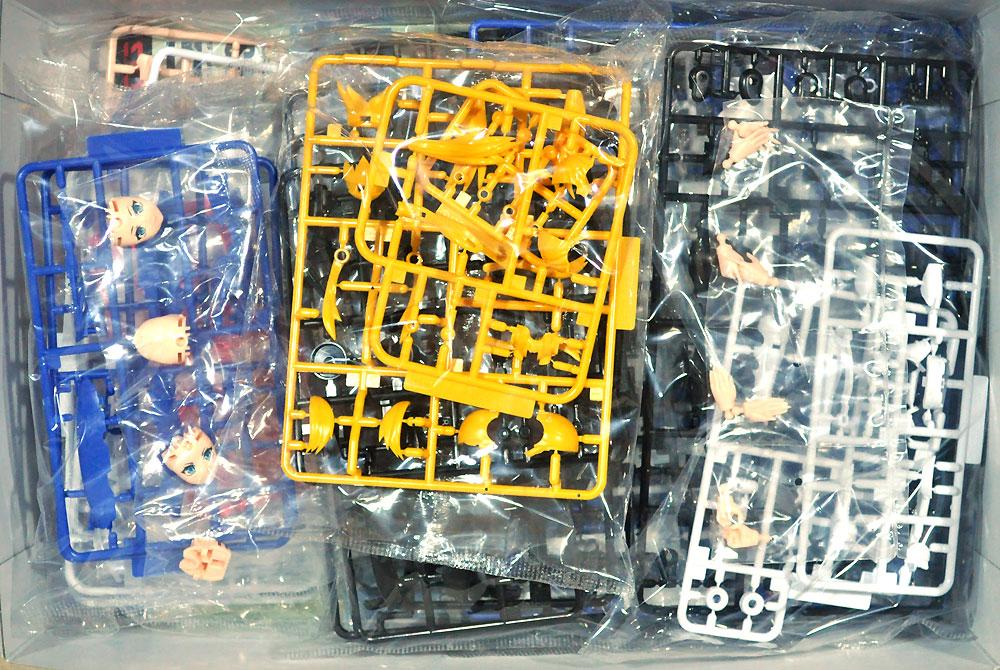 ヴァリアブルファイターガールズ マクロスΔ VF-31J ジークフリート 35th アニバーサーリープラモデル(アオシマACKS (アオシマ キャラクターキット セレクション)No.MC-002)商品画像_1