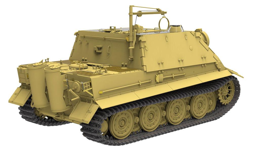 シュトルムティーガー w/フルインテリアプラモデル(ライ フィールド モデル1/35 Military Miniature SeriesNo.RM-5012)商品画像_4