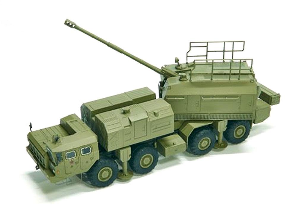 ロシア軍 A-222 130mm 自走沿岸砲システム ベーレクプラモデル(モデルコレクト1/72 AFV キットNo.PP72001)商品画像_2