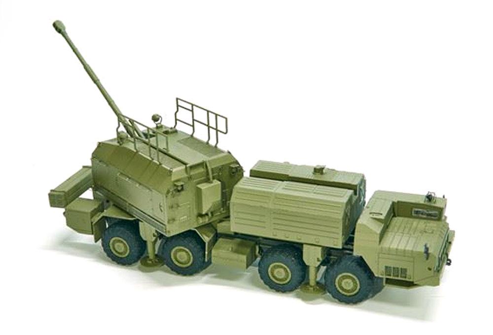ロシア軍 A-222 130mm 自走沿岸砲システム ベーレクプラモデル(モデルコレクト1/72 AFV キットNo.PP72001)商品画像_4