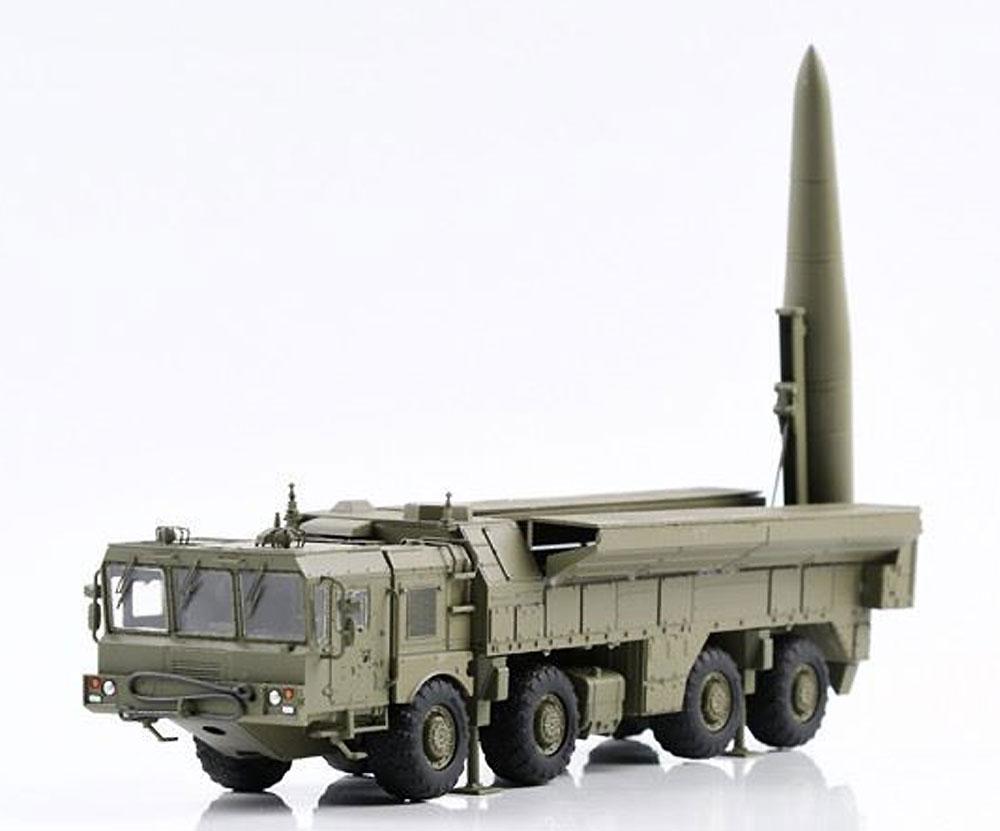ロシア 9K723 イスカンデル-M 短距離弾道ミサイル w/MZKTシャシープラモデル(モデルコレクト1/72 AFV キットNo.PP72002)商品画像_2