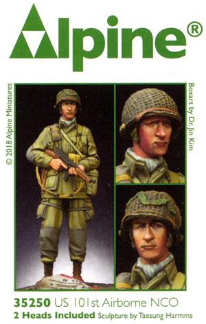 WW2 アメリカ 第101空挺師団 下士官レジン(アルパイン1/35 フィギュアNo.AM35250)商品画像