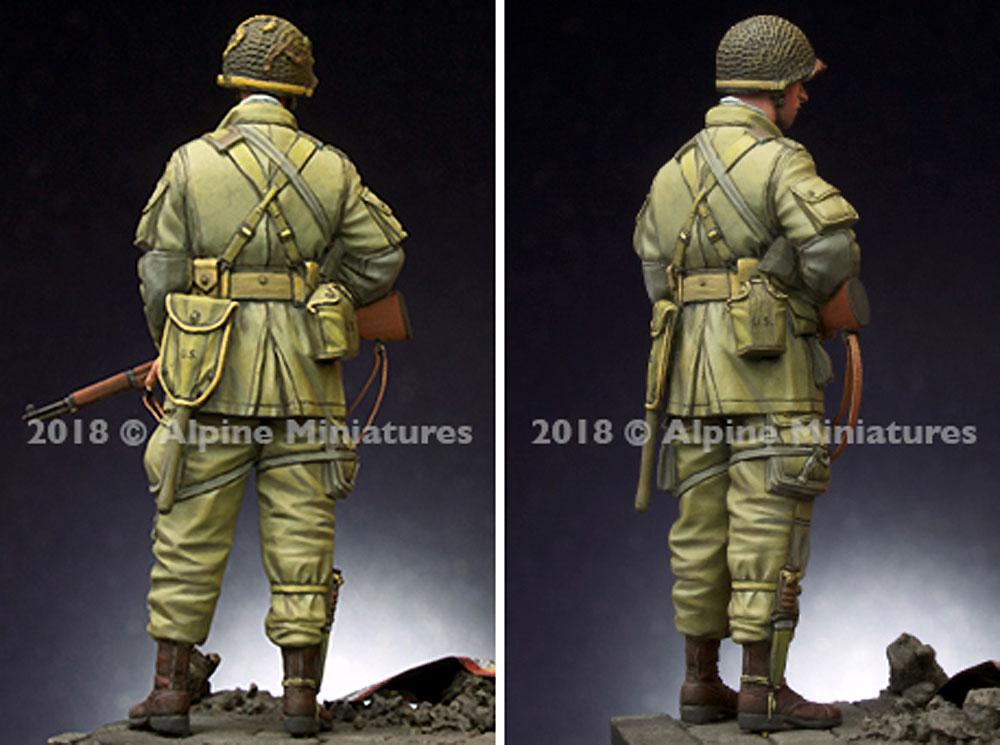 WW2 アメリカ 第101空挺師団 兵士レジン(アルパイン1/35 フィギュアNo.AM35251)商品画像_4