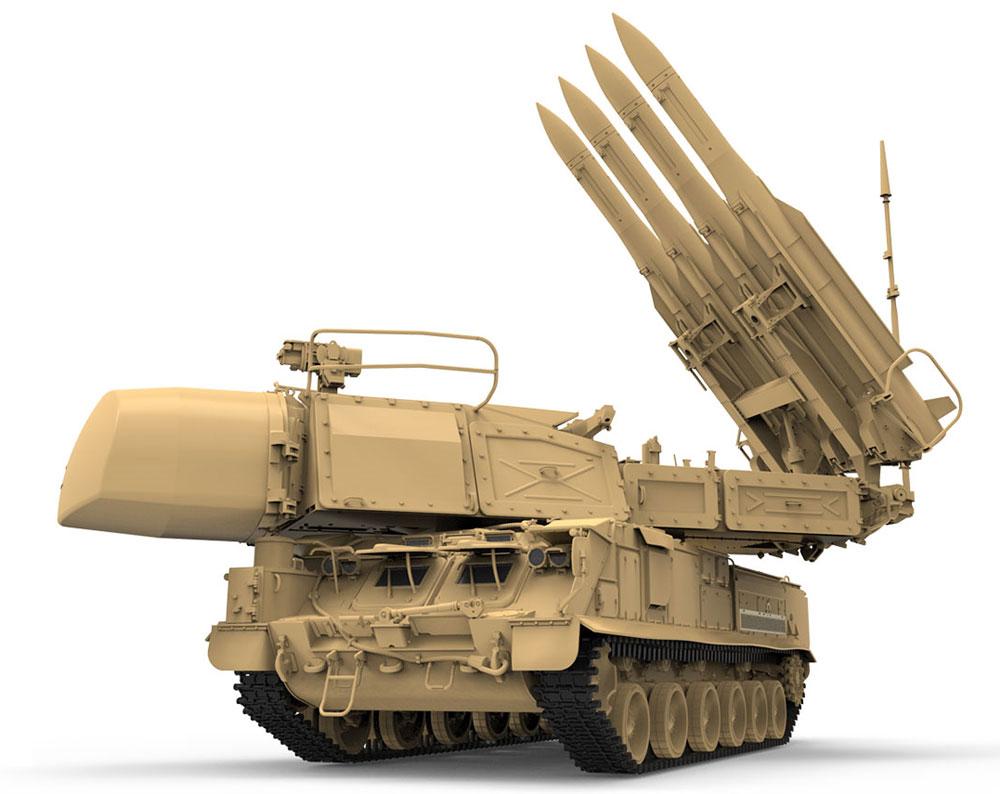ロシア 9K37M1 ブーク 防空ミサイルシステムプラモデル(MENG-MODEL1/35 ステゴザウルス シリーズNo.SS-014)商品画像_2