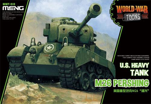 アメリカ重戦車 M26 パーシングプラモデル(MENG-MODELWORLD WAR TOONSNo.WWT-010)商品画像