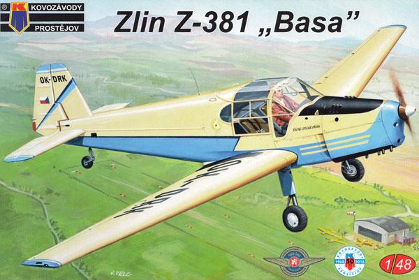 ズリン Z-381 初等複座練習機プラモデル(KPモデル1/48 エアクラフト プラモデルNo.KPM4810)商品画像