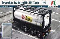 テクノカー トレーラー 20フィートタンク